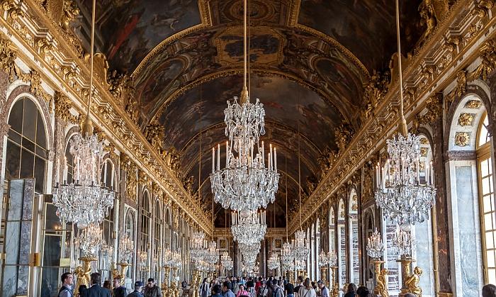 Schloss Versailles (Château de Versailles): Spiegelsaal
