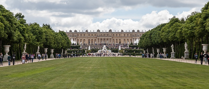 Parc de Versailles: Jardin de Versailles, Schloss Versailles (Château de Versailles)