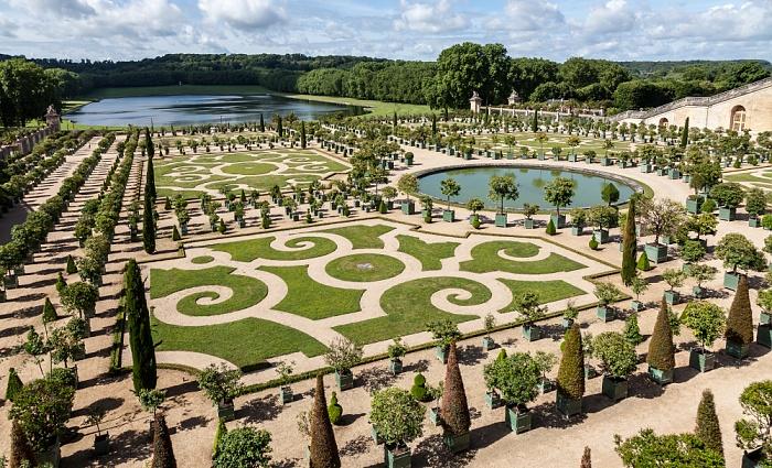 Parc de Versailles: Jardin de Versailles - Jardin de l'orangerie Pièce d'eau des Suisses