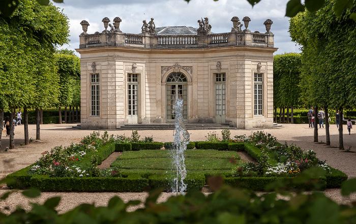Versailles Jardins du Petit Trianon, Pavillon français