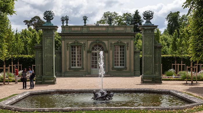Versailles Jardins du Petit Trianon, Pavillon frais