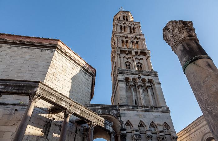 Split Altstadt (Grad): Diokletianpalast - Kathedrale des Heiligen Domnius