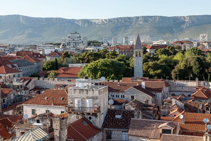 Split Blick vom Turm der Kathedrale des Heiligen Domnius