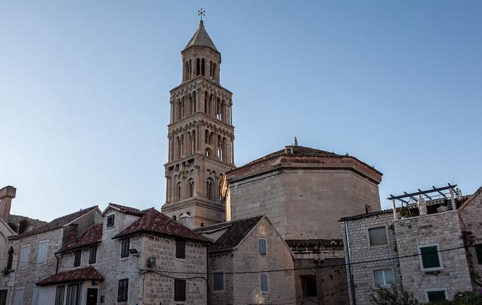 Split Altstadt (Grad): Diokletianpalast Kathedrale des Heiligen Domnius