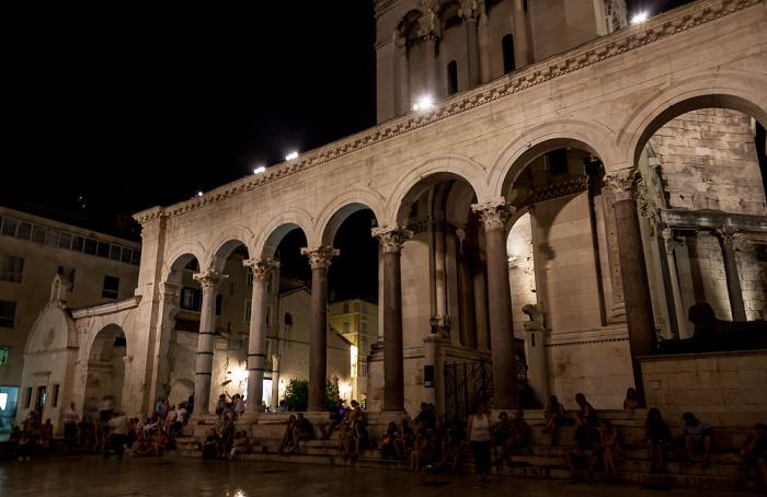 Split Altstadt (Grad): Diokletianpalast - Peristyl