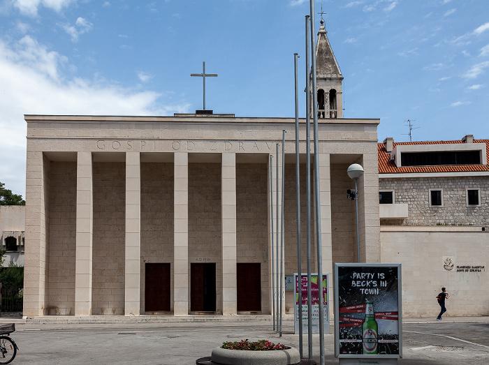 Split Altstadt (Grad): Trg Gaje Bulata - Crkva Gospe od Zdravlja