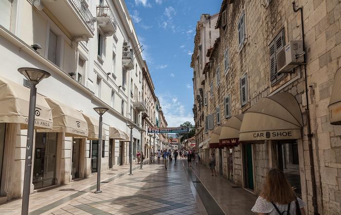 Split Altstadt (Grad): Marmontova ulica