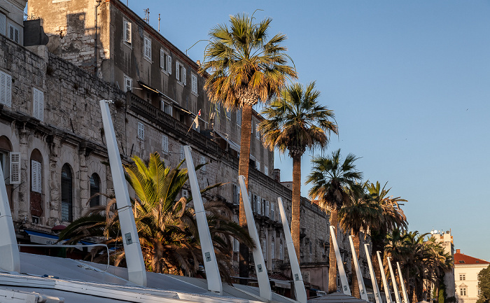 Split Altstadt (Grad): Obala Hrvatskog narodnog preporoda (Riva)