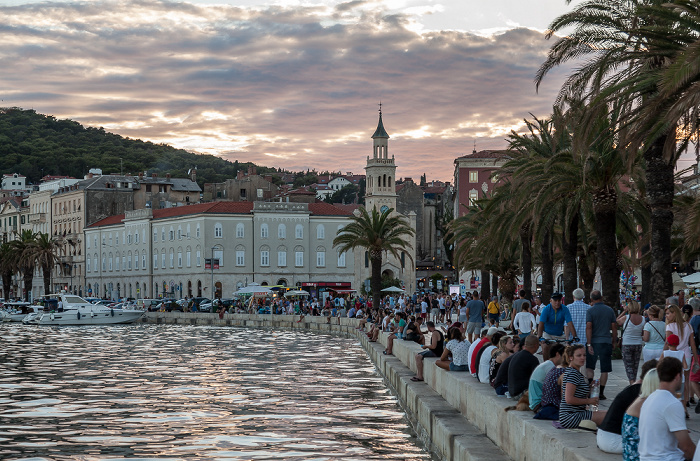 Split Hafen, Obala Hrvatskog narodnog preporoda (Riva)