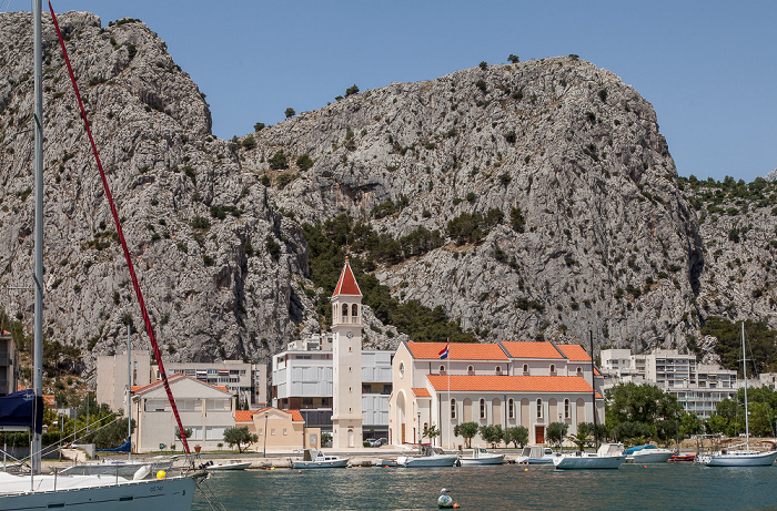 Omiš Cetina Crkva sv. Petra na Priku