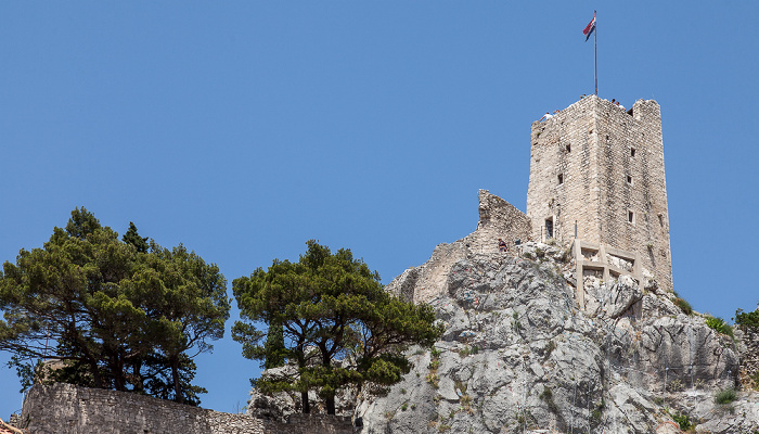 Omiš Tvrđave Mirabella (Peovica)