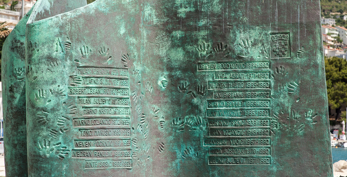 Omiš Spomenik braniteljima domovinskog rata