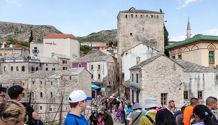 Mostar Altstadt: Alte Brücke (Stari most), Kujundžiluk
