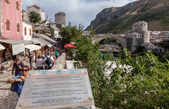 Mostar Altstadt: Kujundžiluk Alte Brücke