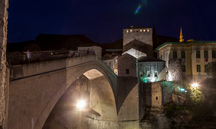 Mostar Altstadt: Alte Brücke (Stari most)