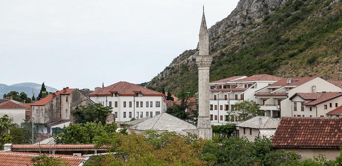 Mostar Blick vom Hotel Almira