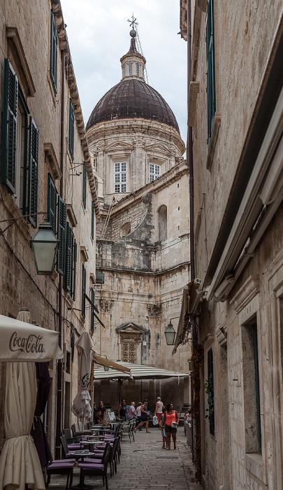 Altstadt (Grad): Gundulićeva poljana, Kathedrale Mariä Himmelfahrt (Katedrala Uznesenju Blažene Djevice Marije na nebo) Dubrovnik