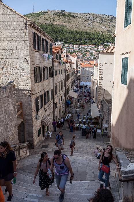 Altstadt (Grad): Ulica uz Jezuite Dubrovnik