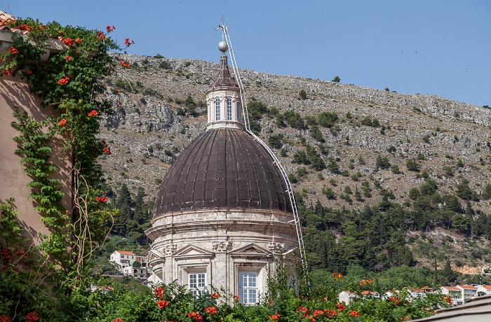 Altstadt (Grad): Kuppel der Kathedrale Mariä Himmelfahrt (Katedrala Uznesenju Blažene Djevice Marije na nebo) Dubrovnik