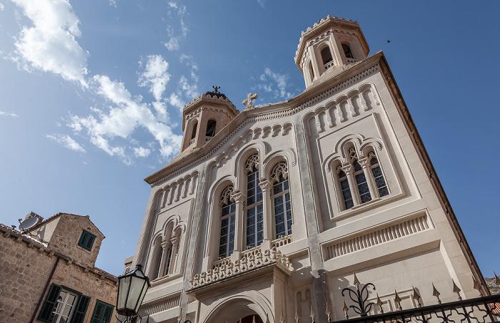 Altstadt (Grad): Ulica od Puča - Crkva Svetog blagovještenja Dubrovnik