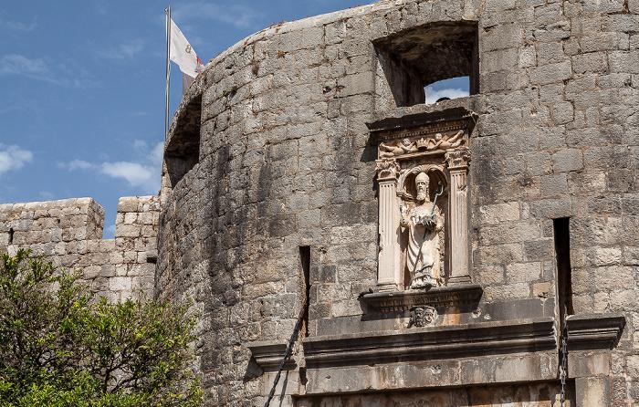 Dubrovnik Altstadt (Grad): Pile-Tor