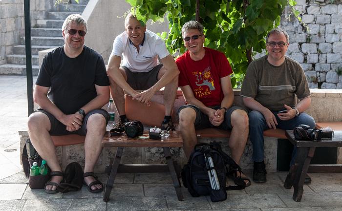 Altstadt (Grad): Stadtmauer - Jürgen, Ralph, Boris, Uwe Dubrovnik