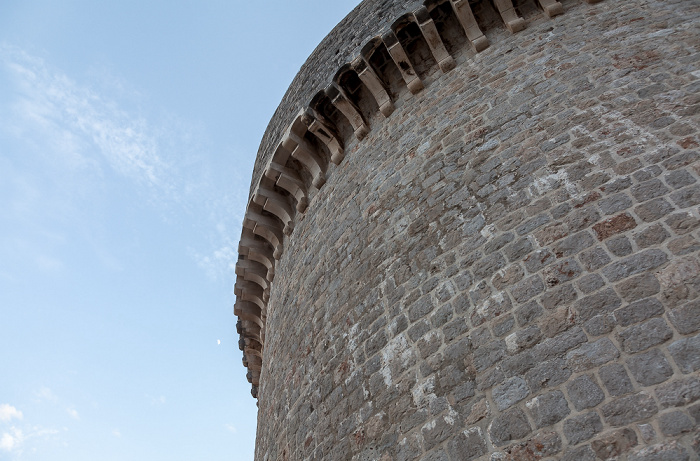 Altstadt (Grad): Stadtmauer mit der Festung Minceta Dubrovnik