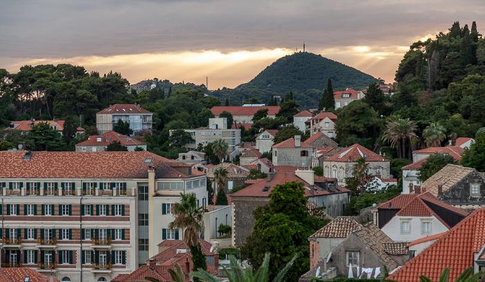 Blick von der Stadtmauer Dubrovnik