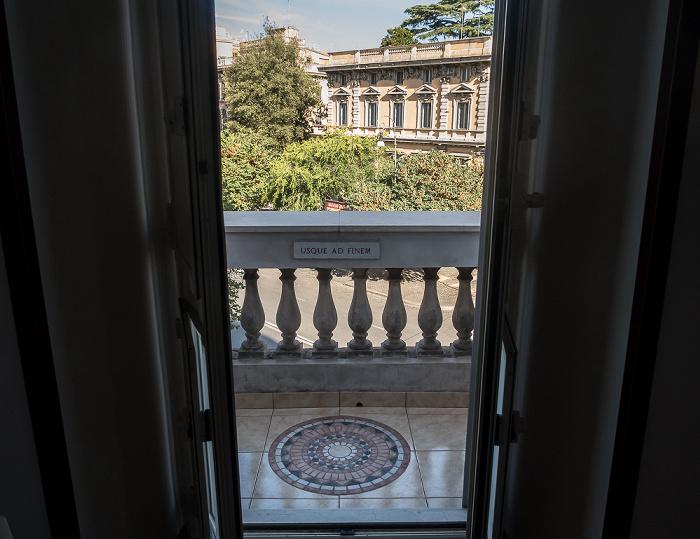 Rom Blick aus dem B&B Close to Vatican: Via Cola Di Rienzo