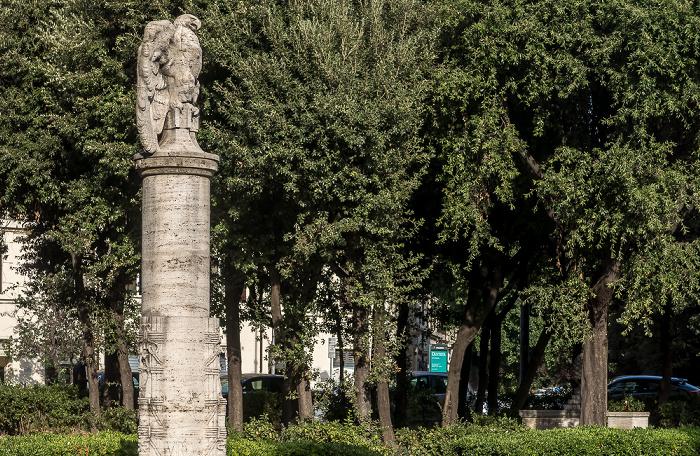 Rom Piazza Giuseppe Mazzini: Fontana di Piazza Mazzini
