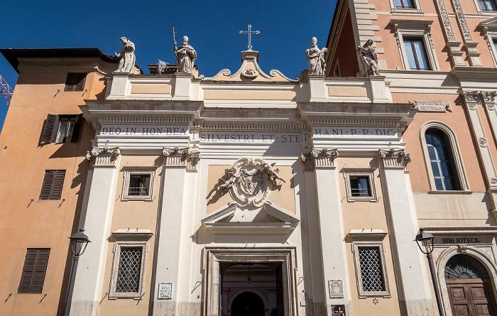 Piazza di San Silvestro: Chiesa di San Silvestro in Capite Rom