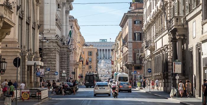 Via del Corso Rom