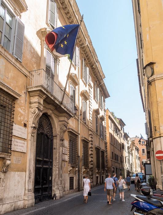 Piazza di Firenze: Palazzo Firenze Rom