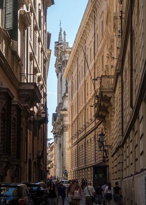 Rom Via del Seminario Chiesa di Sant'Ignazio di Loyola in Campo Marzio