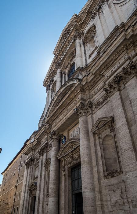 Piazza Sant'Ignazio: Chiesa di Sant'Ignazio di Loyola in Campo Marzio Rom