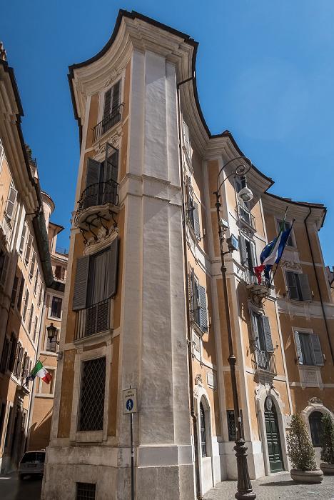 Piazza Sant'Ignazio: Comando carabinieri per la tutela del patrimonio culturale Rom