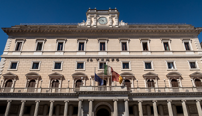 Piazza Colonna: Palazzo Wedekind Rom