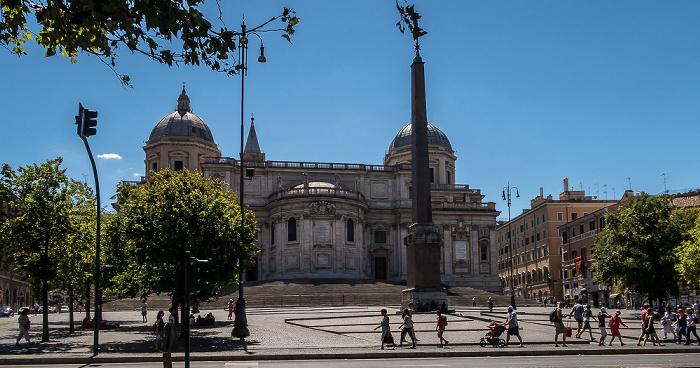 Piazza dell'Esquilino: Obelisco Esquilino, Basilica di Santa Maria Maggiore Rom
