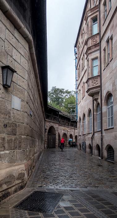 Nürnberg Frauentormauer