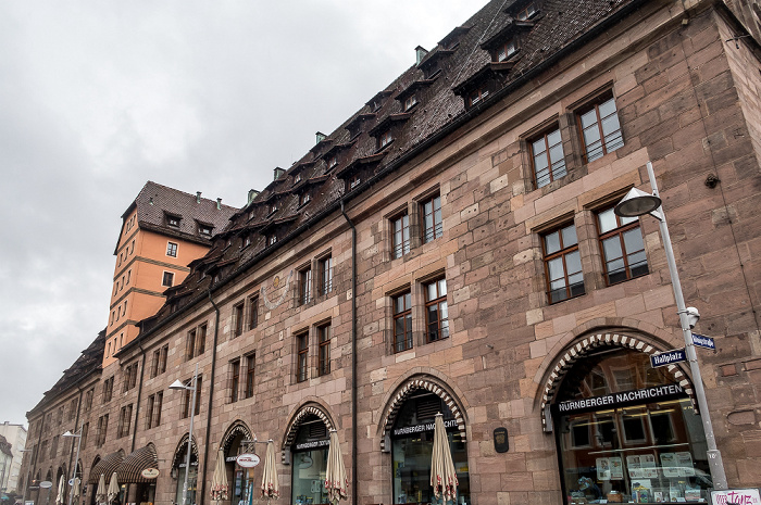 Nürnberg Hallplatz: Mauthalle