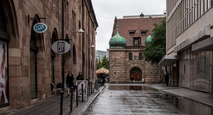 Nürnberg An der Mauthalle Zeughaus