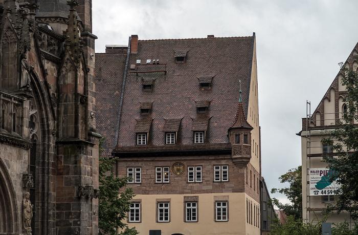 Nürnberg Sebalder Platz St. Sebald