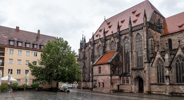Sebalder Platz, St. Sebald (Sebalduskirche) Nürnberg 2017