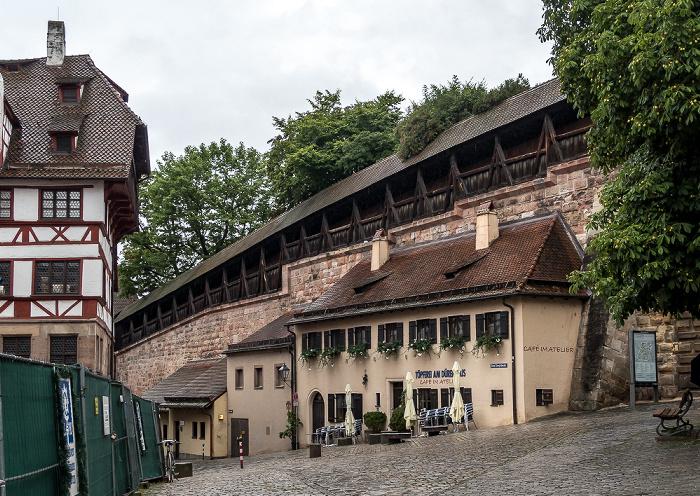 Nürnberg Beim Tiergärtnertor, Neutormauer Albrecht-Dürer-Haus