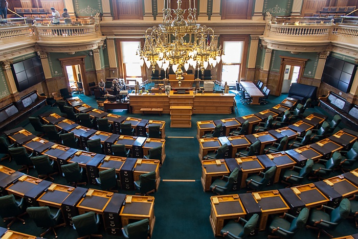 Denver Colorado State Capitol Building: House of Representatives Chamber