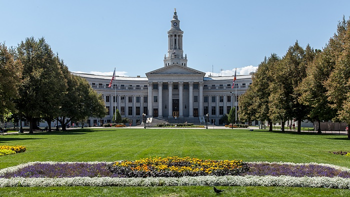 Denver Golden Triangle: Civic Center Park, City and County Building
