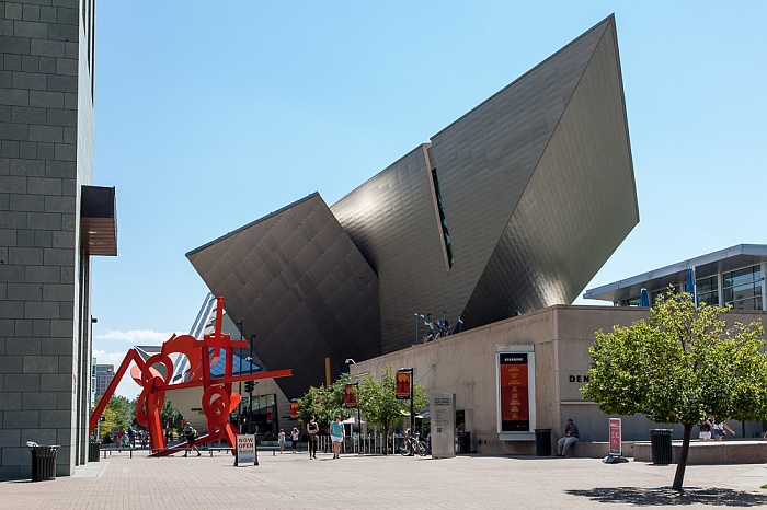 Golden Triangle: Acoma Plaza, Denver Art Museum