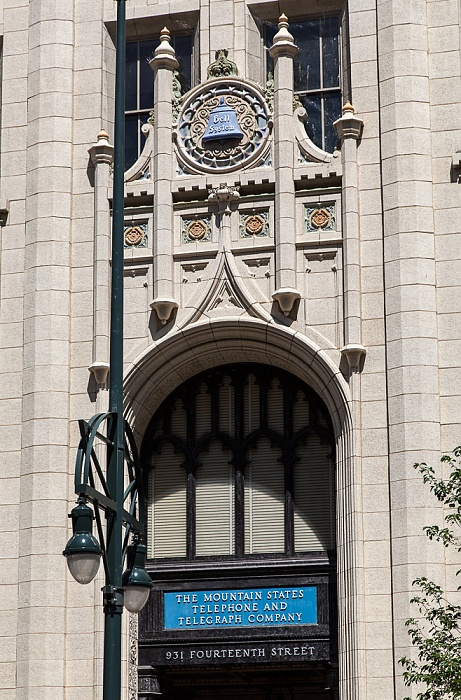 Downtown Denver: 14th Street - Mountain States Telephone Building