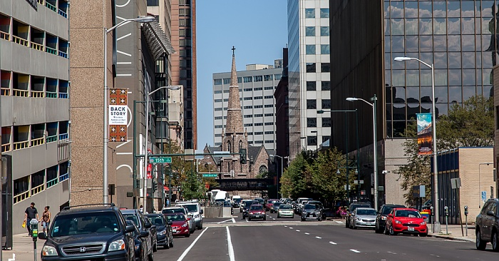 Downtown Denver: Tremont Place, Trinity United Methodist Church