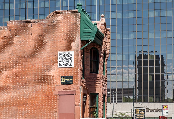 Downtown Denver: Court Place - Curry-Chucovitch-Gerash House (1439 Court Place) Denver